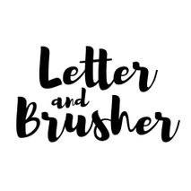 Letter and Brusher