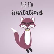 She.Fox Invitations