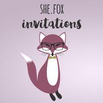 She.Fox Invitations
