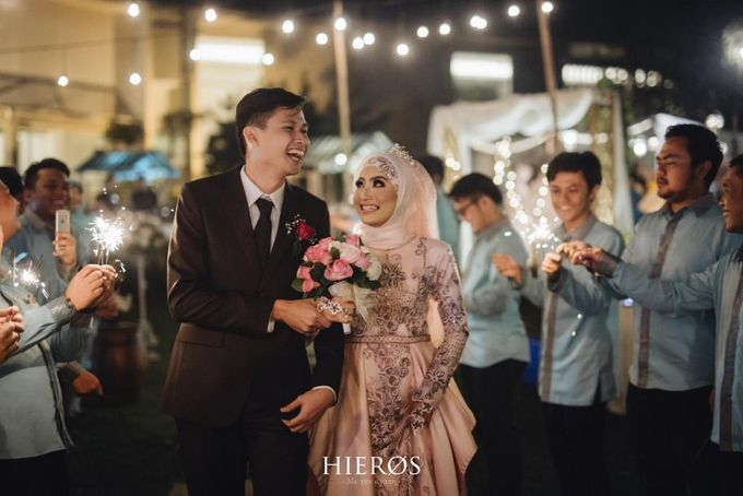 DIYAN & RIZCO by Raffles Hills Cibubur - On Green Garden Venue - 008