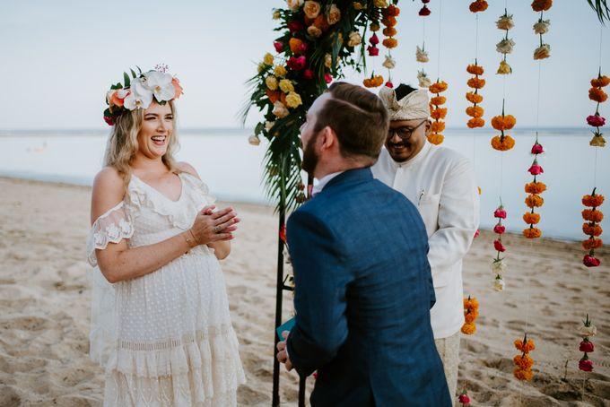 Tropical-themed wedding with Boho inspirations by Amora Bali Weddings - 020