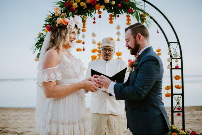 Tropical-themed wedding with Boho inspirations by Amora Bali Weddings - 023