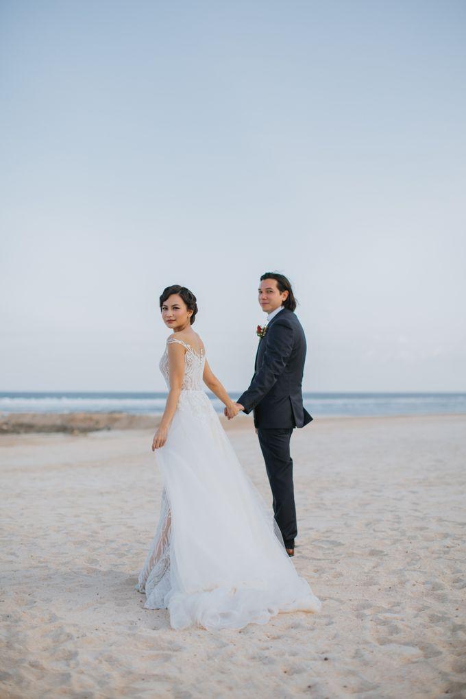 CELINE & PAUL WEDDING by The Apurva Kempinski Bali - 007