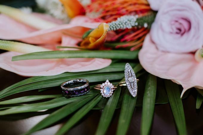 Tropical-themed wedding with Boho inspirations by Amora Bali Weddings - 006