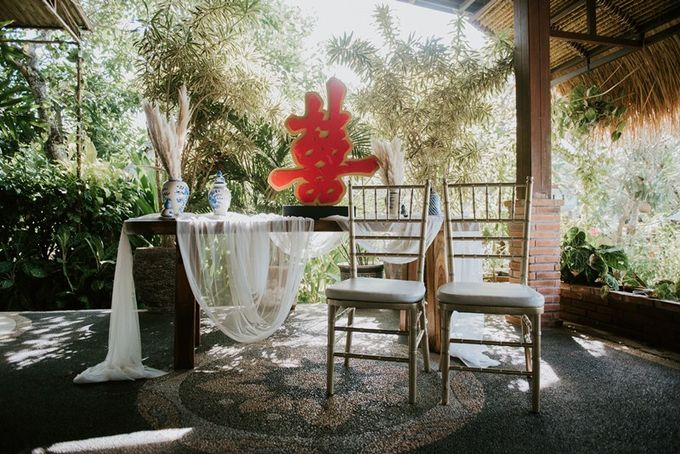 Cliff Wedding Dinner by Bali Izatta Wedding Planner & Wedding Florist Decorator - 004