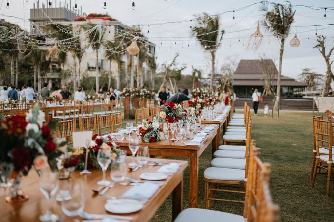 CELINE & PAUL WEDDING by The Apurva Kempinski Bali - 008