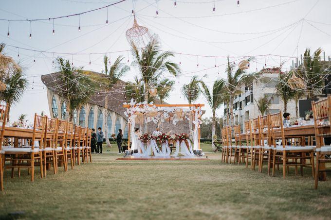 CELINE & PAUL WEDDING by The Apurva Kempinski Bali - 010