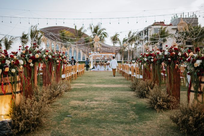 CELINE & PAUL WEDDING by The Apurva Kempinski Bali - 020
