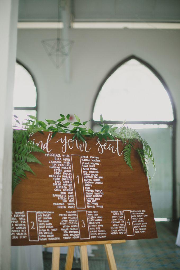 Wedding of Suzy & Fergus by Rosette Designs & Co - 012
