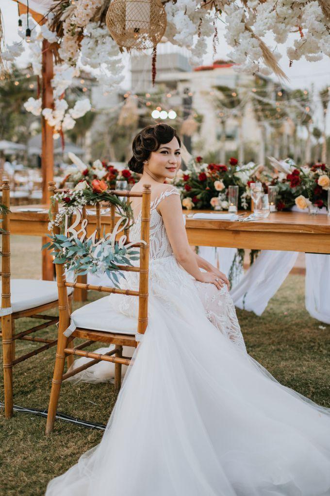 CELINE & PAUL WEDDING by The Apurva Kempinski Bali - 009