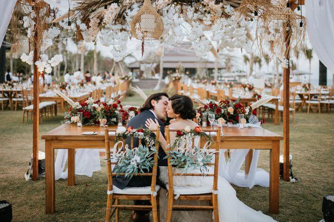 CELINE & PAUL WEDDING by The Apurva Kempinski Bali - 011