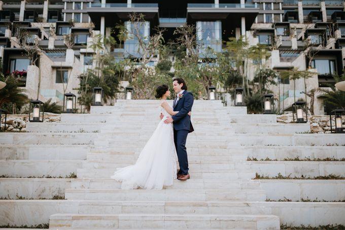 CELINE & PAUL WEDDING by The Apurva Kempinski Bali - 016