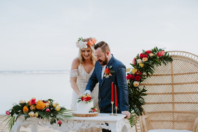 Tropical-themed wedding with Boho inspirations by Amora Bali Weddings - 026