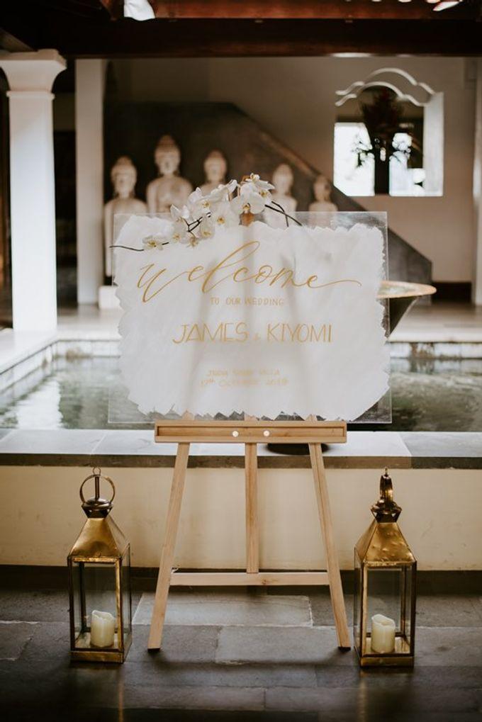 Wedding Kyomi & James by Bali Izatta Wedding Planner & Wedding Florist Decorator - 004