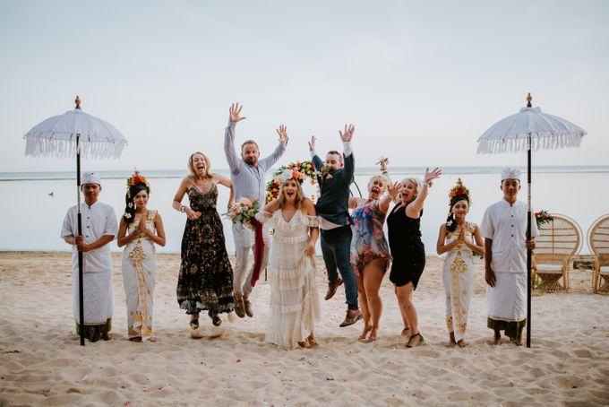 Tropical-themed wedding with Boho inspirations by Amora Bali Weddings - 029