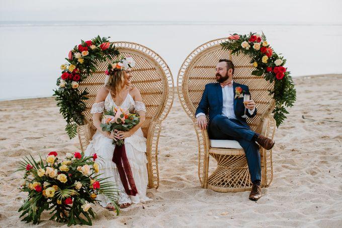 Tropical-themed wedding with Boho inspirations by Amora Bali Weddings - 032