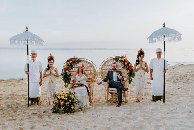 Tropical-themed wedding with Boho inspirations by Amora Bali Weddings - 033