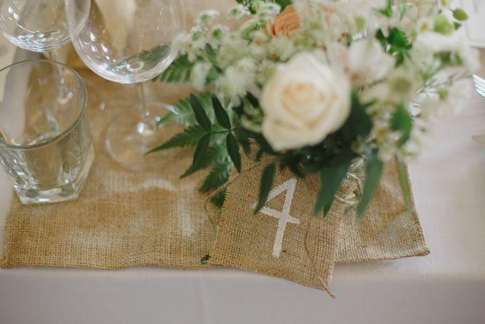 Wedding of Suzy & Fergus by Rosette Designs & Co - 016