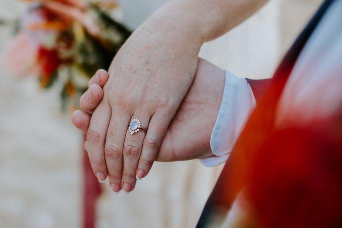 Tropical-themed wedding with Boho inspirations by Amora Bali Weddings - 036