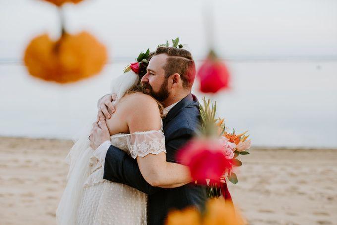 Tropical-themed wedding with Boho inspirations by Amora Bali Weddings - 037