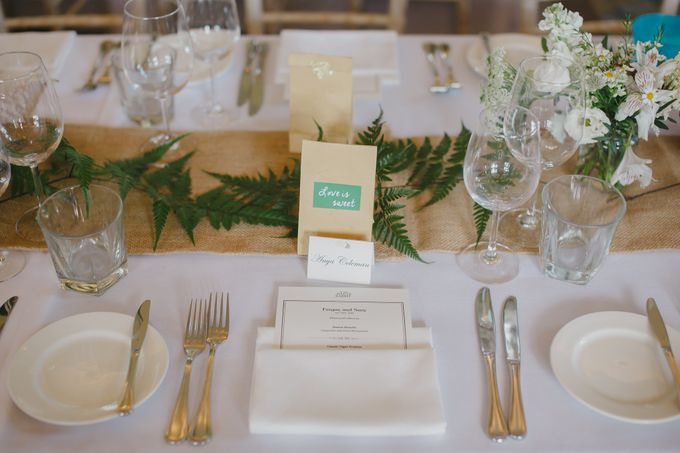 Wedding of Suzy & Fergus by Rosette Designs & Co - 017