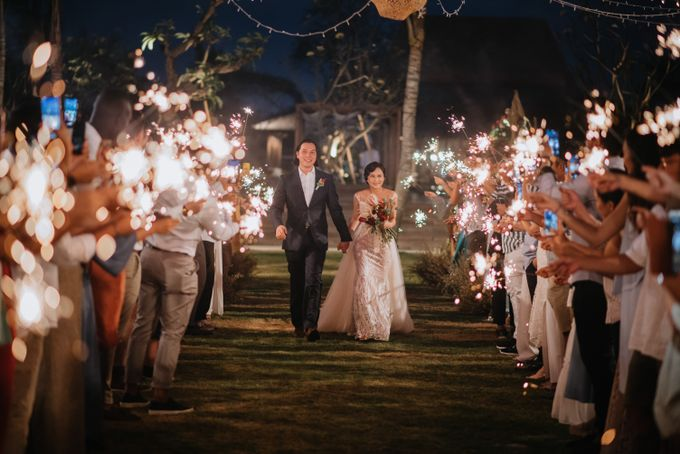 CELINE & PAUL WEDDING by The Apurva Kempinski Bali - 012