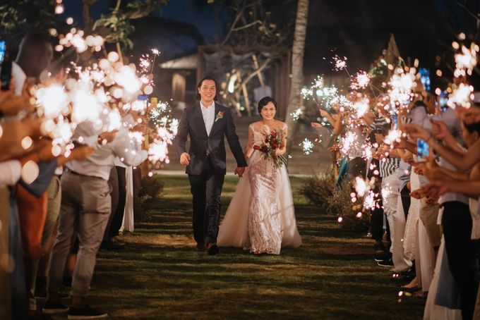 CELINE & PAUL WEDDING by The Apurva Kempinski Bali - 014