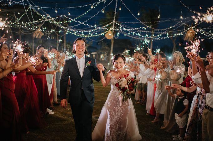 CELINE & PAUL WEDDING by The Apurva Kempinski Bali - 024