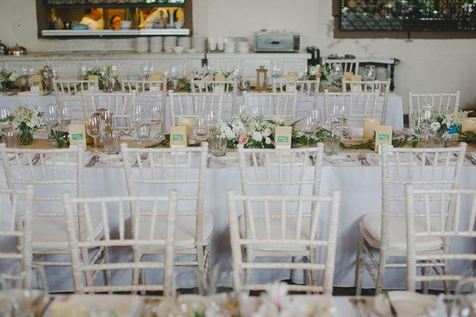 Wedding of Suzy & Fergus by Rosette Designs & Co - 018
