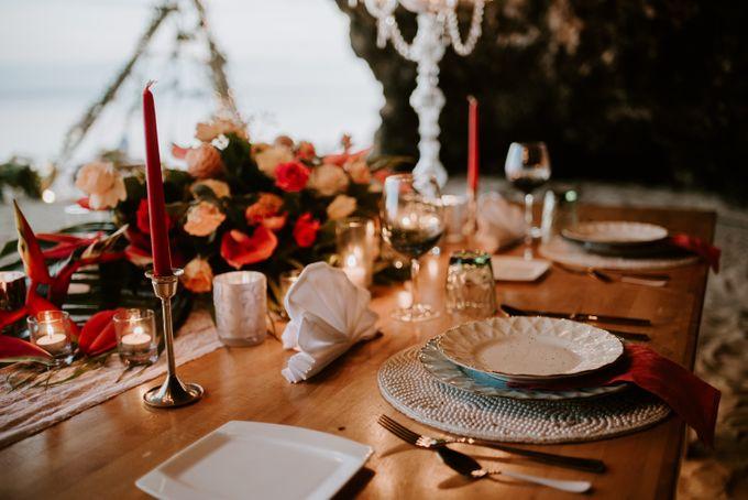 Tropical-themed wedding with Boho inspirations by Amora Bali Weddings - 040
