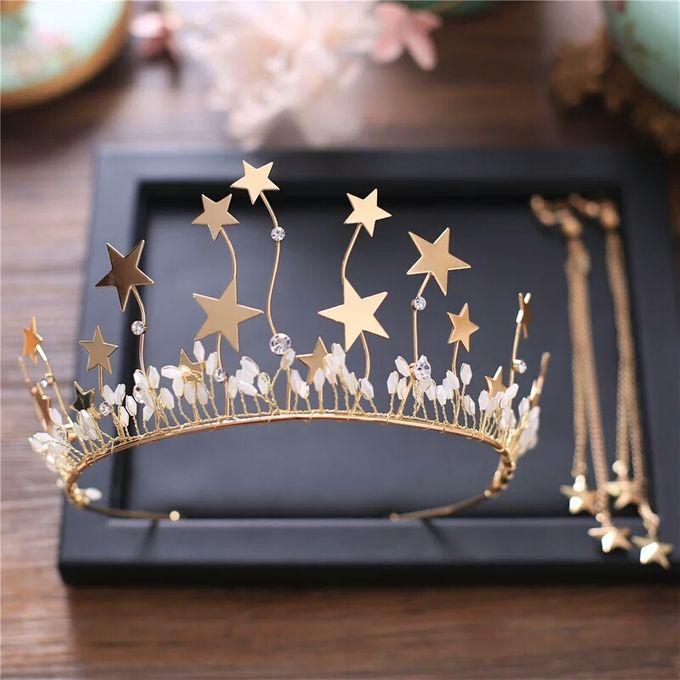 Fiora Wedding Crown Headpiece by Fairytale Undercover - 002