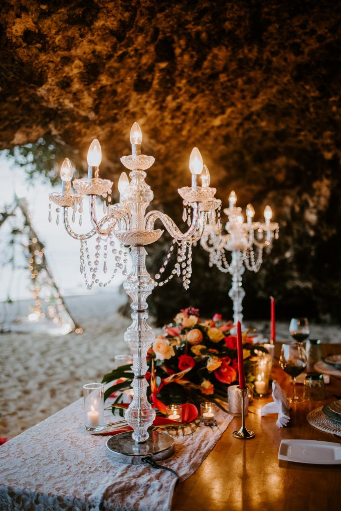 Tropical-themed wedding with Boho inspirations by Amora Bali Weddings - 041