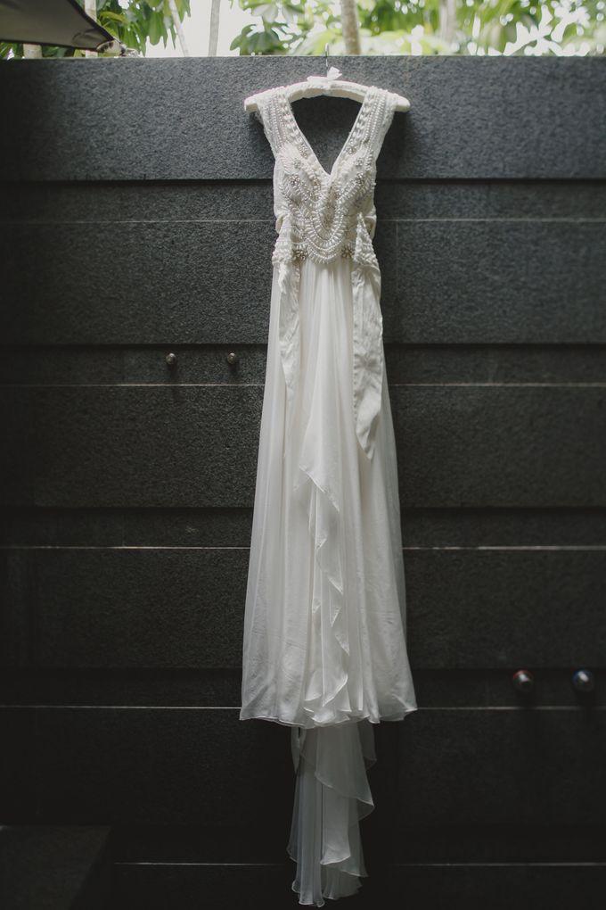 Wedding of Suzy & Fergus by Rosette Designs & Co - 002