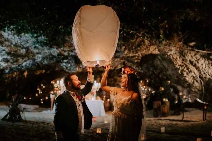 Tropical-themed wedding with Boho inspirations by Amora Bali Weddings - 048