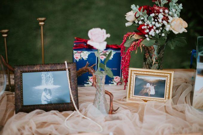 Burgundy & Navy Blue Wedding Decoration by Latitude Bali - 011