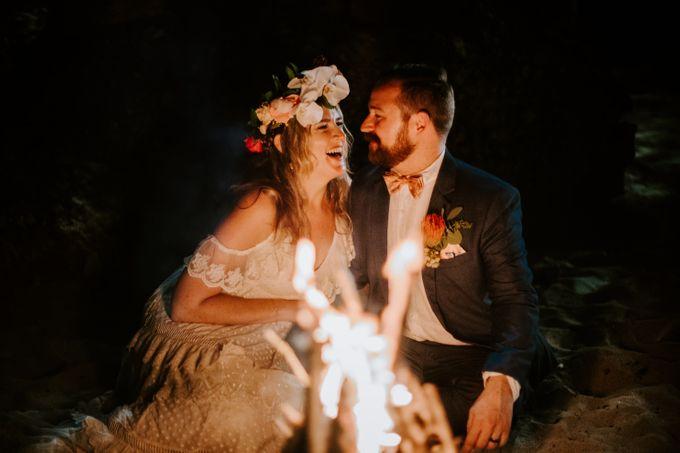 Tropical-themed wedding with Boho inspirations by Amora Bali Weddings - 050