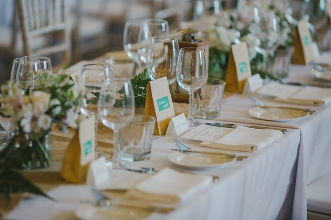 Wedding of Suzy & Fergus by Rosette Designs & Co - 025