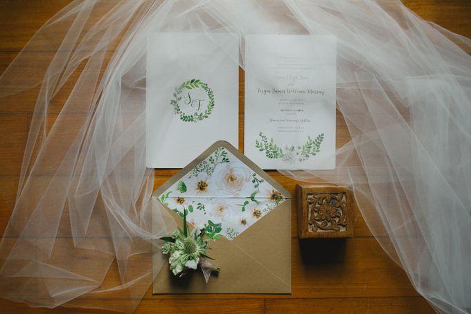 Wedding of Suzy & Fergus by Rosette Designs & Co - 003
