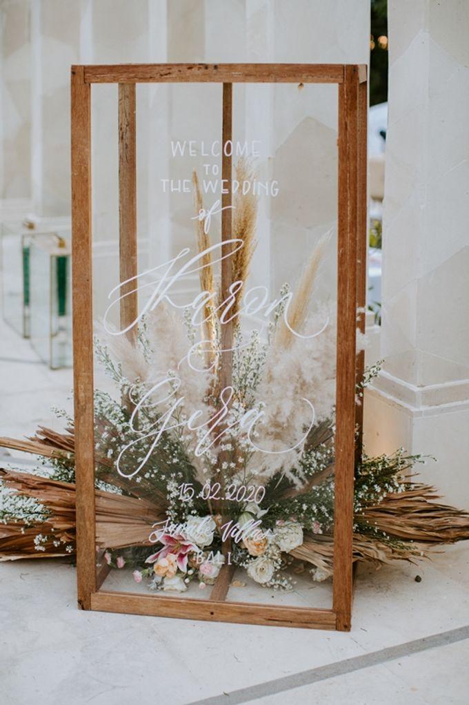 Wedding Sharon & Gera by Bali Izatta Wedding Planner & Wedding Florist Decorator - 003