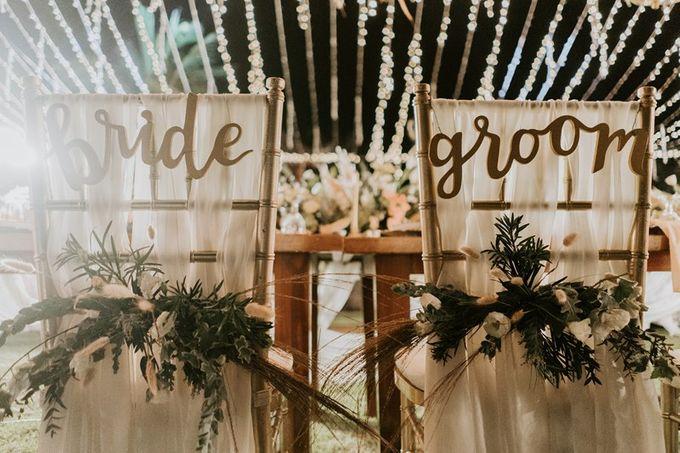 Cliff Wedding Dinner by Bali Izatta Wedding Planner & Wedding Florist Decorator - 011