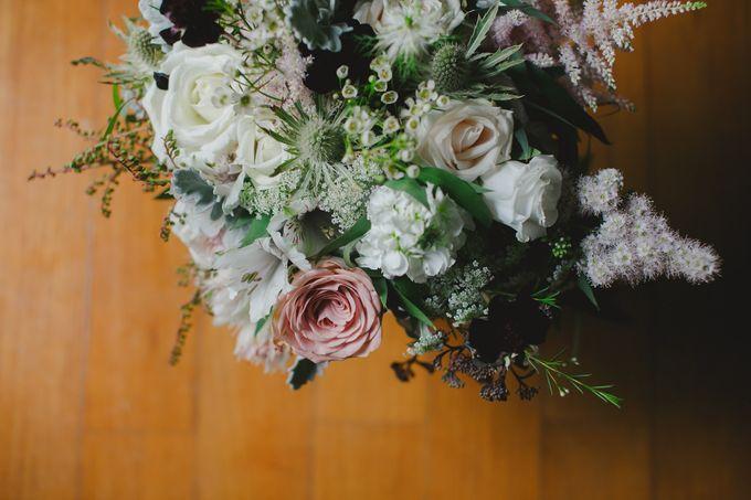 Wedding of Suzy & Fergus by Rosette Designs & Co - 005