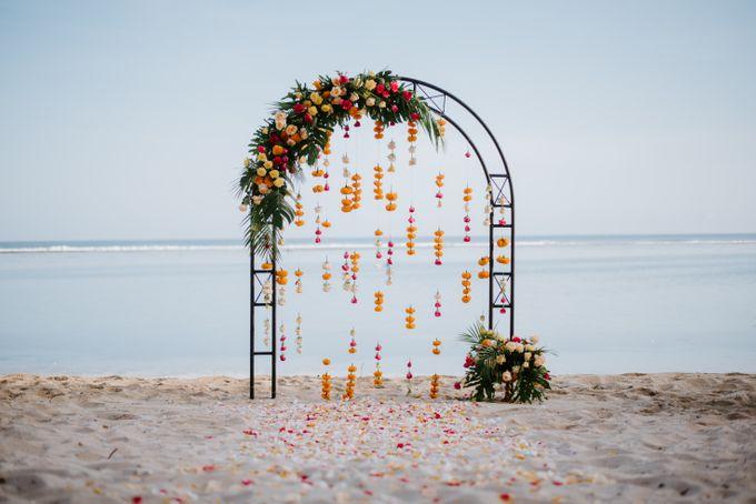 Tropical-themed wedding with Boho inspirations by Amora Bali Weddings - 012
