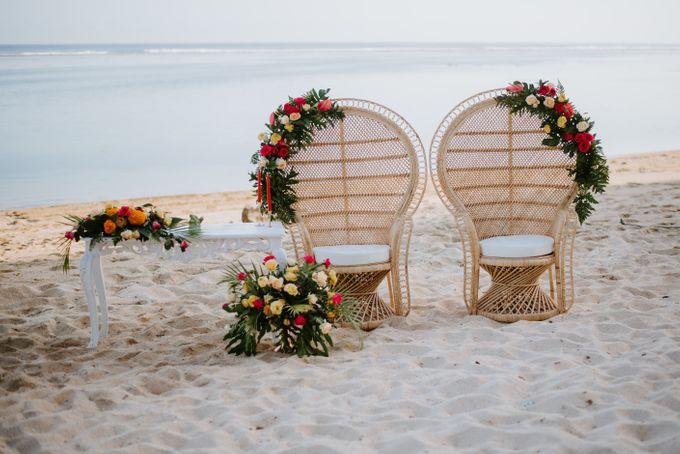 Tropical-themed wedding with Boho inspirations by Amora Bali Weddings - 013