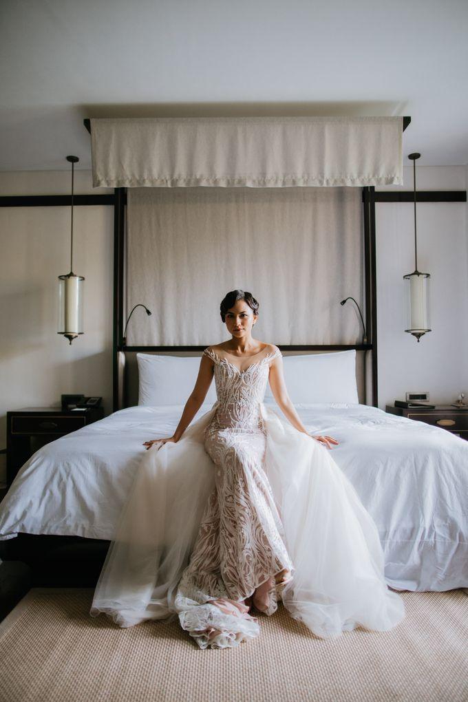 CELINE & PAUL WEDDING by The Apurva Kempinski Bali - 001
