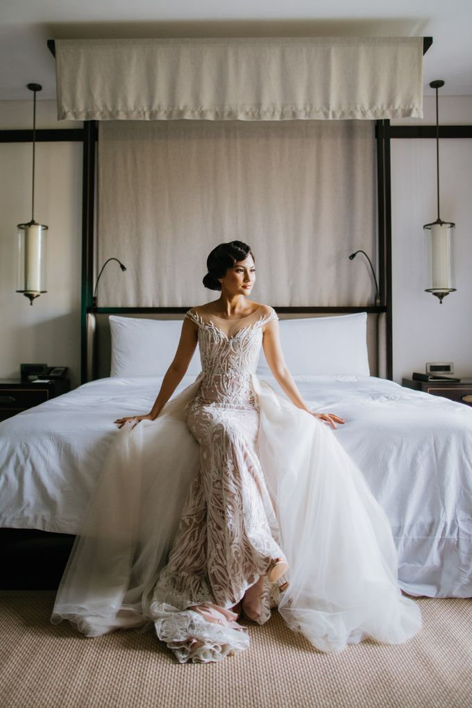 CELINE & PAUL WEDDING by The Apurva Kempinski Bali - 002