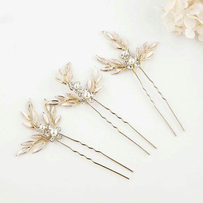 Rosie Wedding Hairpin by Fairytale Undercover - 001