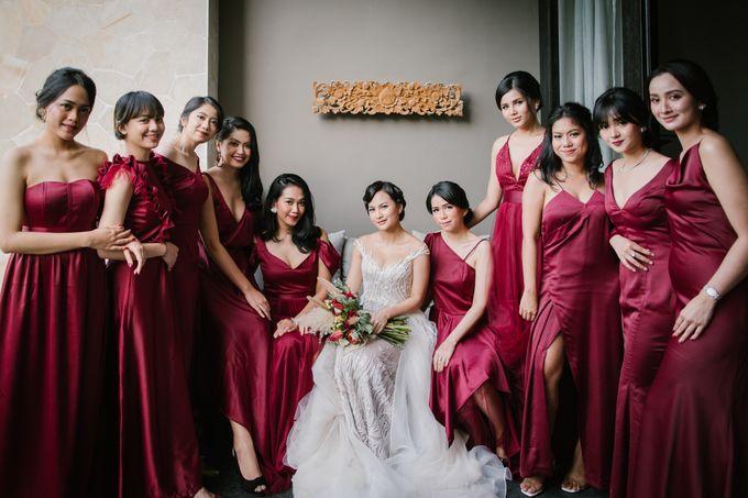 CELINE & PAUL WEDDING by The Apurva Kempinski Bali - 003