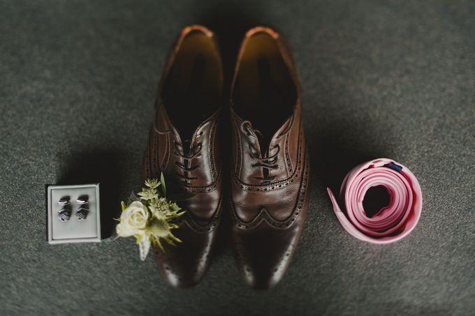 Wedding of Suzy & Fergus by Rosette Designs & Co - 006