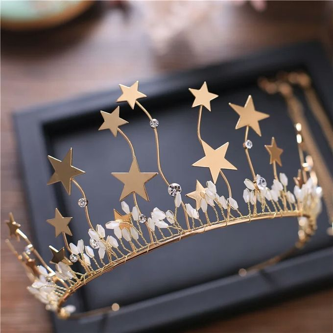 Fiora Wedding Crown Headpiece by Fairytale Undercover - 003