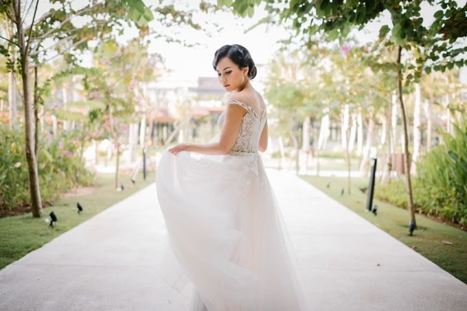CELINE & PAUL WEDDING by The Apurva Kempinski Bali - 017